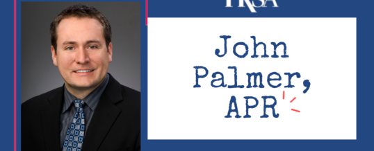 Board Member Spotlight: John Palmer, APR